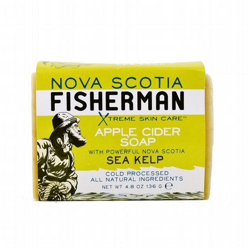 Nova Scotia Fisherman - Apple Cider Sea Kelp Soap
